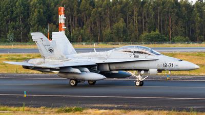 CE.15-08 - McDonnell Douglas EF-18B Hornet - Spain - Air Force