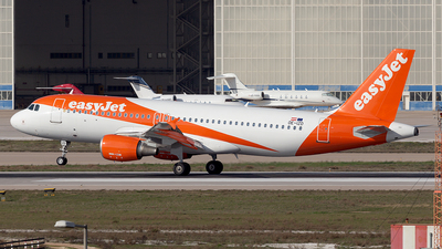 A picture of OEIZD - Airbus A320214 - easyJet - © Oksana