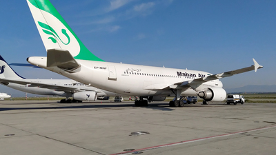 A picture of EPMNF - Airbus A310304 - Mahan Air - © Majid-Hasankhani