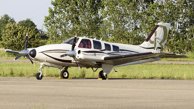 9H-MAW - Beechcraft B50 Twin Bonanza - Private