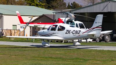 ZK-CNZ - Cirrus SR22-G2 - Private