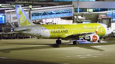 HS-ABX - Airbus A320-214 - Thai AirAsia