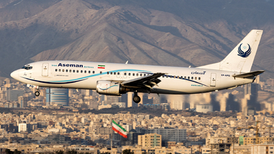 EP-APQ - Boeing 737-4H6 - Iran Aseman Airlines