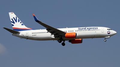 D-ASXT - Boeing 737-8EH - SunExpress Germany