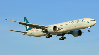 A picture of BKPN - Boeing 777367(ER) - Cathay Pacific - © Hao Phan