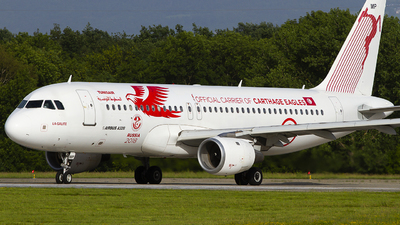 TS-IMP - Airbus A320-214 - Tunisair