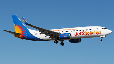 A picture of GJZBC - Boeing 7378MG - Jet2 - © Florencio Martin Melian