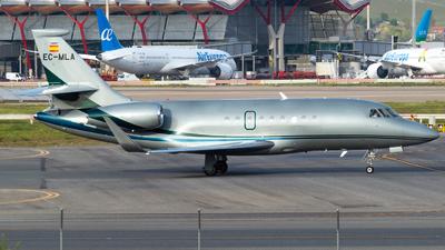 A picture of ECMLA - Dassault Falcon 2000S -  - © Mateo León