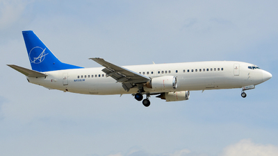 N458UW - Boeing 737-4B7 - iAero Airways
