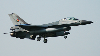 J-510 - General Dynamics F-16AM Fighting Falcon - Netherlands - Royal Air Force