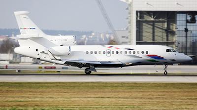 VP-CHW - Dassault Falcon 7X - VW Air Services
