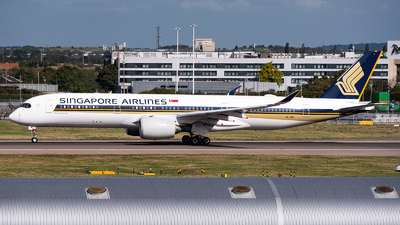 A picture of 9VSMU - Airbus A350941 - Singapore Airlines - © Karam Sodhi
