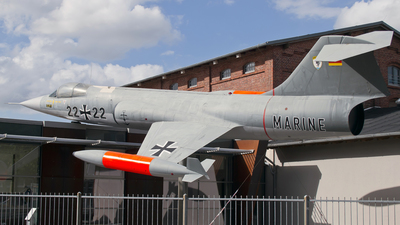 25-74 - Lockheed F-104G Starfighter - Germany - Air Force