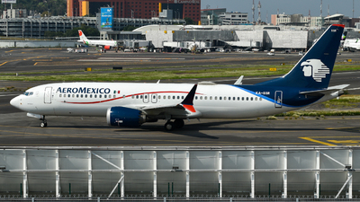 A picture of XASSR - Boeing 737 MAX 8 - Aeromexico - © ER Spotter 777