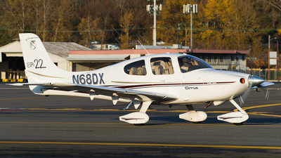 A picture of N68DX - Cirrus SR22 - [0214] - © SpotterPowwwiii