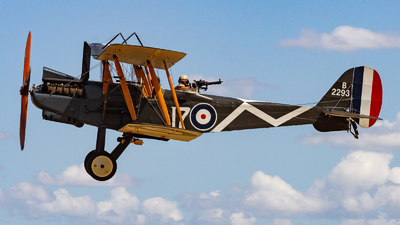 ZK-REK - Royal Aircraft Factory RE.8 - Private