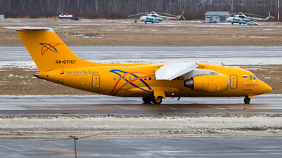 RA-61701 - Antonov An-148-100B - Saratov Airlines