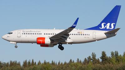A picture of LNTUL - Boeing 737705 - SAS - © Sebastian E Burmo