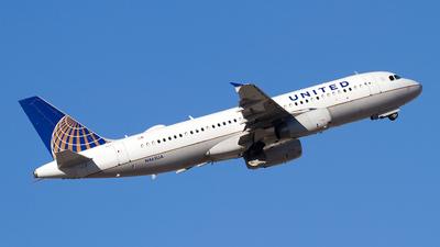 N465UA - Airbus A320-232 - United Airlines