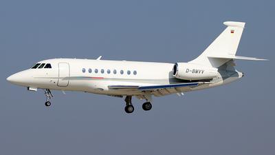 D-BMVV - Dassault Falcon 2000EX - BMW Flugdienst