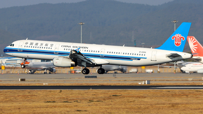 A picture of B6355 - Airbus A321231 - China Southern Airlines - © ChengFJ