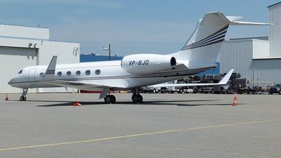 VP-BJD - Gulfstream G550 - Private