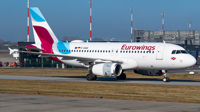 A picture of DAGWG - Airbus A319132 - Eurowings - © Niclas Rebbelmund