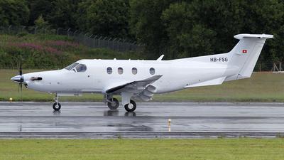 A picture of HBFSG - Pilatus PC12 - Pilatus Flugzeugwerke - © Ian Howat