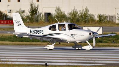 N636KB - Cirrus SR22 - Private