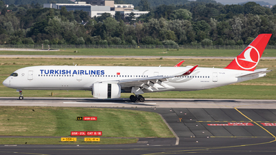 TC-LGA - Airbus A350-941 - Turkish Airlines