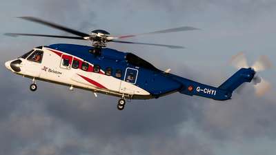 G-CHYI - Sikorsky S-92A Helibus - Bristow Helicopters