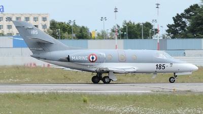 185 - Dassault Falcon 10MER - France - Navy