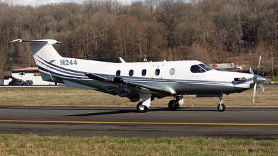 A picture of N244 - Pilatus PC12/47E - [1307] - © Huy Do