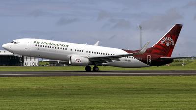 5R-EBA - Boeing 737-86N - Air Madagascar