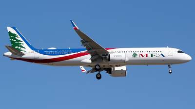 T7-ME8 - Airbus A321-271NX - Middle East Airlines (MEA)