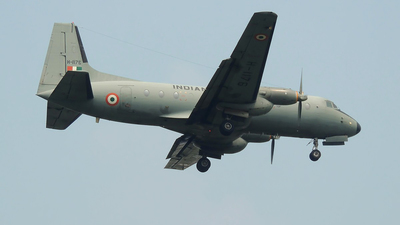 H-1176 - Hawker Siddeley HS-748-2M/LFD - India - Air Force