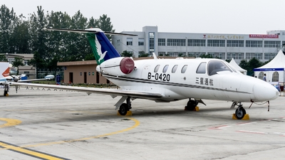 B-0420 - Cessna 525 Citationjet CJ1 - Tri-star General Aviation
