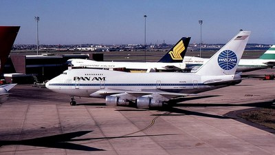 N540PA - Boeing 747SP-21 - Pan Am