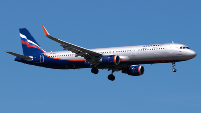A picture of VPBAY - Airbus A321211 - Aeroflot - © Timo Duda