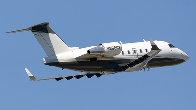 N988CV - Bombardier CL-600-2B16 Challenger 604 - Private