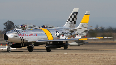 NX1F - Canadair CL-13B-6 Sabre - Private