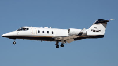 N550HG - Bombardier Learjet 55 - Private