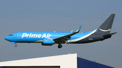 N5153A - Boeing 737-83N(BCF) - Amazon Prime Air (Southern Air)