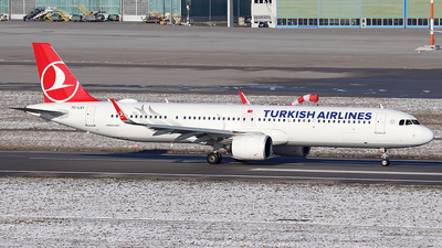 TC-LSY - Airbus A321-271NX - Turkish Airlines