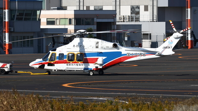 A picture of JA83KT - AgustaWestland AW139 - [31759] - © Yoshiharu Ozaki