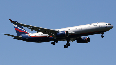 A picture of VQBPJ - Airbus A330343 - Aeroflot - © Railgun
