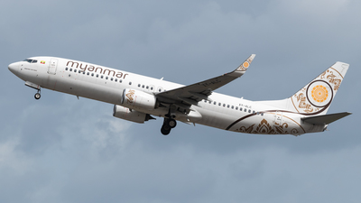 A picture of XYALC - Boeing 73786N - Myanmar National Airlines - © trt7