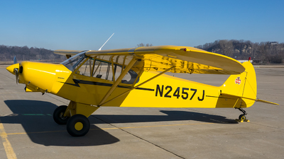 N2457J - Piper PA-18-150 Super Cub - Private