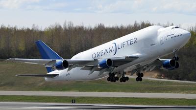 N747BC - Boeing 747-4J6(LCF) - Boeing Company