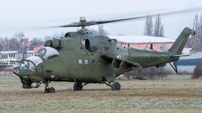 731 - Mil Mi-24W Hind E - Poland - Army